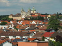 City and Basilica Weingarten (Wuerttemberg)