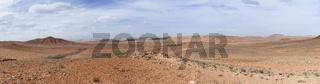 Steinwueste in der Sahara