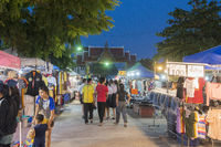 THAILAND PHETBURI WAT SA BUA NIGHTMARKET