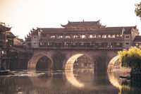 Arched bridge in Feng huang Old Town