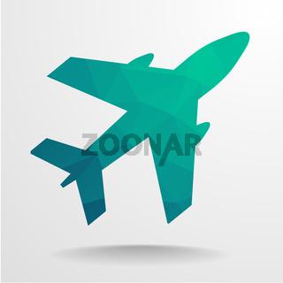Polygon Airplane