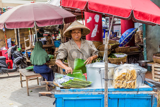 Lady at the market