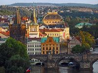 view of Prague, Prague, Czech Republic