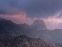 Dramatic sky La Gomera