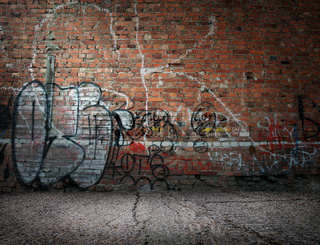 Graffiti on the wall