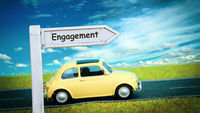 Street Sign to Engagement