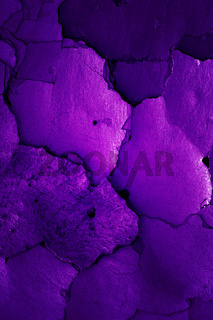 old cracked wall in grape color