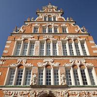 Mayor Hintze House, historical monument, Weser Renaissance, Stade, Lower Saxony, Germany, Europe