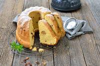 Austrian yeast ring cake
