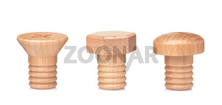 Different screw shape wall hook knobs