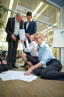 Geschäftsleute im Startup Unternehmen