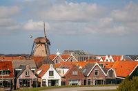 Hafenstadt Oudeschild auf Texel