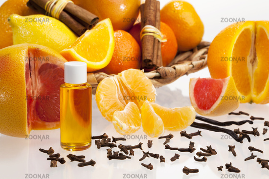 Blend of essential oils