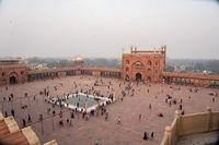 Jama Masjid in Old Delhi, India