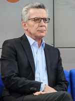 Thomas de Maizière at the Leipzig Book Fair 2019