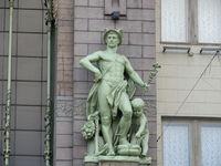 antique god Hermes Mercury