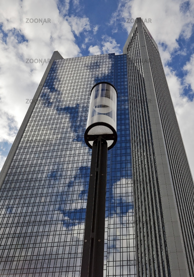 Trianon skyscraper in Westend, Frankfurt am Main, Hesse, Germany, Europe