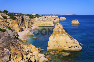 Algarve Strand Marinha - Algarve beach marinha 05