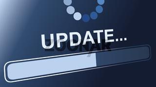 update status sign