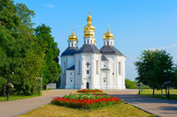 Famous Catherine's Church Chernihiv, Ukraine
