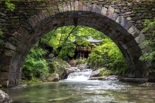 Seonamsa temple Seungseongyo bridge