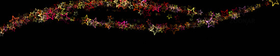 Wonderful christmas panorama design illustration