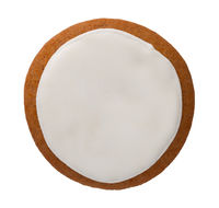 Gingerbread Circle Isolated On White Background