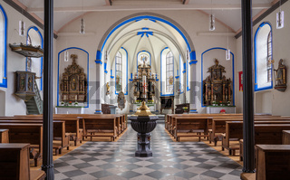 Parish church Saint Stephanus, Zeltingen, Germany