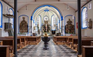 Parish church Saint Stephanus, Zeltingen, Germany