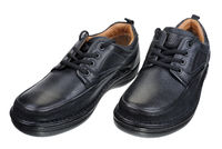 Black men's shoes