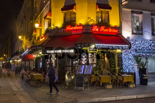 A small cafe on the corner, Paris, France