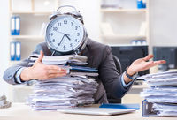 Employee failing to meet tax reporting deadlines