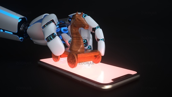 Malware Bot Trojan Horse Smartphone