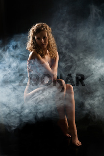 Nude In Smoke