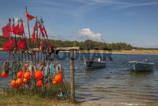 Darsser Ort bei Prerow - Fischerutensil