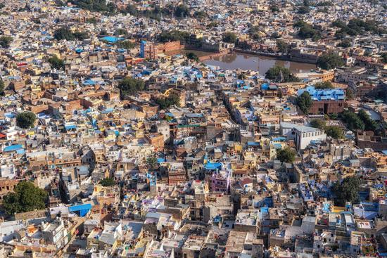 Jodhpur city view from top