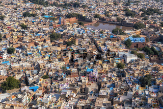 Jodhpur city view from top