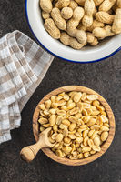 Roasted salted peanuts