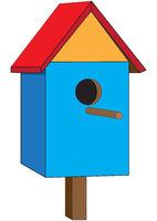 One nesting box