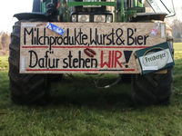 Farmers' demo on January 17th, 2020 in Magdeburg