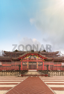 Shuri Castle's in the Shuri neighborhood of Naha, the capital of Okinawa Prefecture,