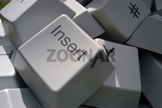 computer keyboard for electronic communication