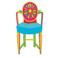 Postmodern Adam chair doodle
