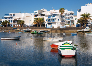 Marina of Arrecife, Lanzarote, Spain