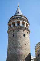 Galata Tower (Galata Kulesi ). Istanbul. Turkey