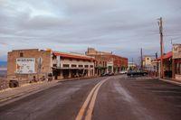 Streets of Jerome Arizona USA