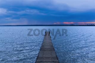 Dreamtime at a lake