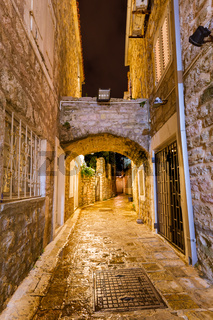 Old Town in Budva Montenegro