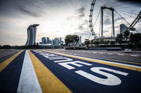 Singapore Grand Prix Circuit As Public Streets