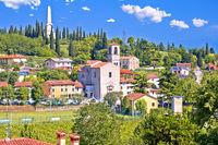 Italian village of Custoza idyllic landscape view